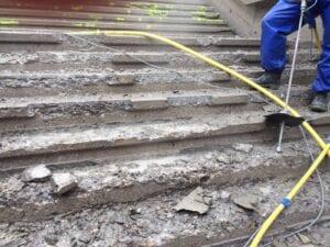 Abtrag Treppe