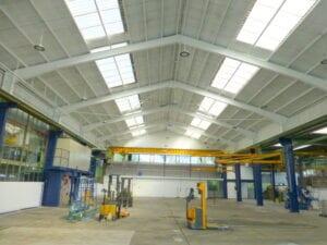 Reinigung Industriehalle