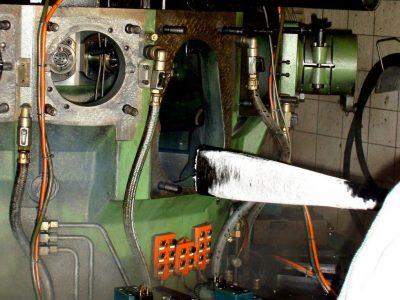 Trockeneis Maschinenteile