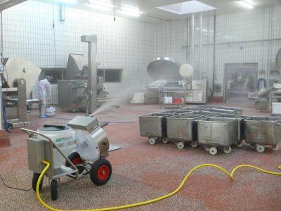 Kaltvernebelung Lebensmittelindustrie