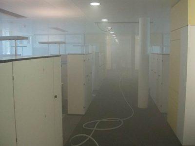 Desinfektion Grossraumbüro