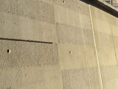 Mauer Kreativ mit Torbo gestrahlt