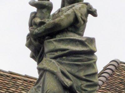 Denkmal vorher